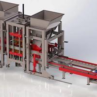 免烧水泥空心环保砖机械设备