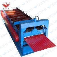 850小圆弧型彩钢压瓦机设备单板机机械
