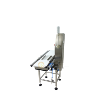 30g护手霜在线重量检测机 日化用品重量检测选别机