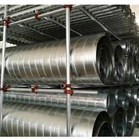 南山镀锌螺旋风管安装南山螺旋风管定制南山厨房通风管道安装