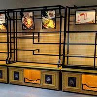 杭州展示柜厂家|超市商品陈列柜|手机展柜|面包柜定做