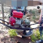 节省人力挖坑机园林种植汽油挖坑机图片y8