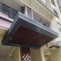 工业园门头铝单板-厂房外墙装饰冲孔铝单板供应厂家