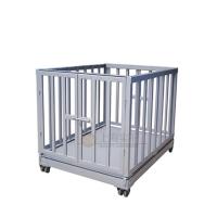 供应1-3吨动物称重秤 厂家定制围栏动物秤