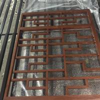 济宁模仿竹叶纹铝花格 户外焊接铝型材防盗网铝窗花