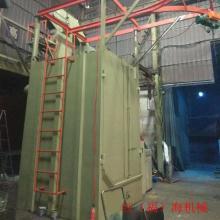一体式喷砂机全自动环保喷沙机挂钩式抛丸机铝材磨砂专用打沙机
