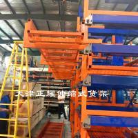 伸缩式货架与固定式货架的区别为什么更适合存放管材棒料钢材