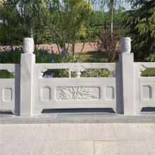 雕花石栏杆加工厂-供应贵港市雕花石材栏杆护栏定做与安装