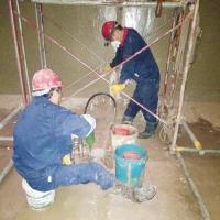 南通市自来水厂水池伸缩缝堵漏