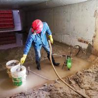 四平地下室变形缝漏水处理