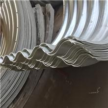 贵州六盘水拼装金属波纹涵管  热镀锌钢制波纹管涵 隧道加固