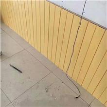 生态木双75浮雕板护墙板新型环保装饰材料幼儿园