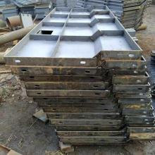 防撞墙模板 高铁防撞墙钢模具 AB防撞墙钢模具厂家