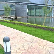压花地坪,公园景区城市乡村彩色水泥混凝土地面