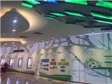 湛江沙湾市场柠檬绿门头铝单板_幕墙装饰铝单板