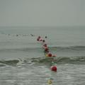 台州龙湾海滨公园安全围栏 水上赛道