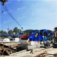 一套石英砂洗砂生产线如何配置 环保洗砂机设备专业厂家