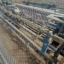 厂家直销护坡钢丝网   客土喷播植草***机编铁丝网工厂现货