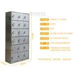 福永员工衣柜制造商交货期快 员工工衣柜 八门不锈钢衣物柜