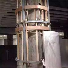 商业大厦中庭包柱圆柱雕花铝单板【方柱铝单板】3D包柱铝板