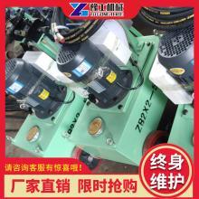高压油泵空心千斤顶液压中空油缸穿心预应力张拉机