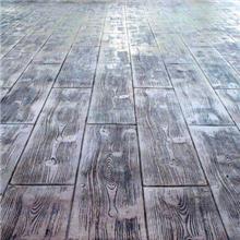 景德镇仿木纹压花地坪墙面压模模具施工工艺