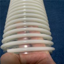 塑料波纹螺旋软管PU塑筋增强软管颗粒物料抽吸软管抛丸机吸尘管