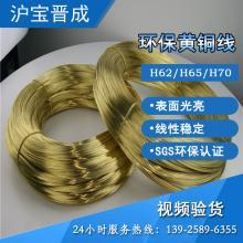压扁加工插头、插座黄铜扁线 欧盟环保铜线 黄铜线