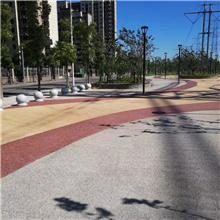 撸起袖子加油干!真石丽快速高效建设海绵城市--彩色透水路面