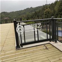 铝制玻璃围栏护栏楼梯