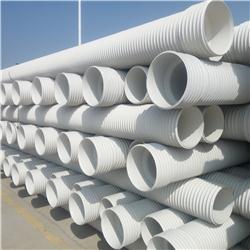 钢带增强螺旋pe波纹管 专业管材厂家 性价比高