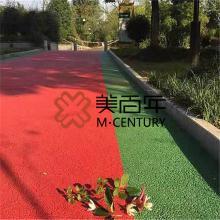 廊坊透水混凝土路面材料 廊坊透水砼工厂 彩色混凝土