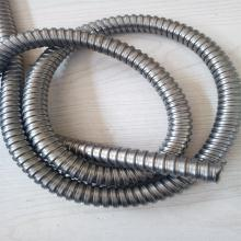 P3型304不锈钢软管单扣电线电缆保护柔性护套单扣不锈钢软管