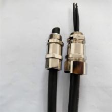 供应铜镀镍电缆锁紧软管接头 不锈钢电缆软管接头规格定制