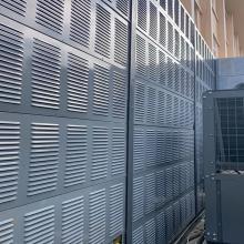 冷却塔降噪安装百叶声屏障