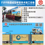 紫外光固化管道修复-FIPP热塑成型法