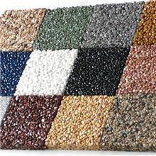 双鸭山市景观胶粘石透水地坪施工行业标准