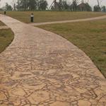 北京市政彩色混泥土艺术地坪的做法及施工方法介绍