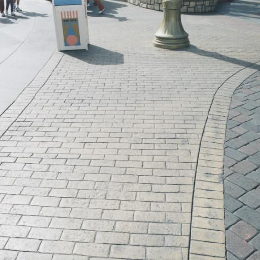 泸州艺术路面材料价格/压模混凝土/压印地坪/专业地坪施工队