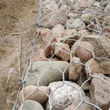 鍍鋅格賓網石籠護坡 5%鋅鋁合金格賓籠價格 堤防格賓網擋墻