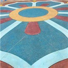 海洋生物馆彩色砾石聚合物仿石地坪的制作方法  材料供应商