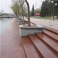 梧州彩色压花混凝土/仿石路面/装饰混凝土路面  地坪厂家直供
