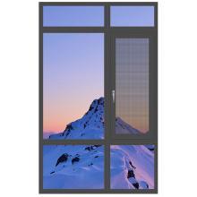 欧铂曼门窗铝合金106款平开窗定制高端门窗