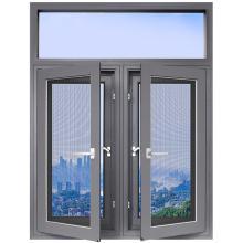 欧铂曼门窗铝合金120款平开窗定制高端门窗