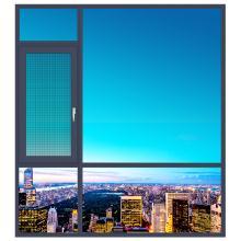 欧铂曼门窗铝合金135款平开窗定制高端门窗