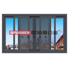 欧铂曼门窗铝合金推拉窗定制高端门窗