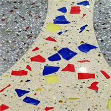彩色艺术聚合物砾石地坪施工商睿龙