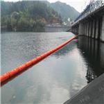 水库浮式拦漂排 环海厂家现货直销40公分塑料拦污浮筒