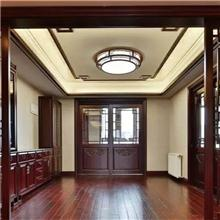 长沙定制全房原木家具、原木吊轨门、木门定做设备齐全