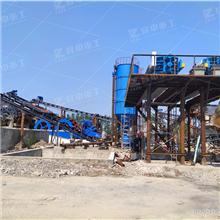 石粉砂輪斗洗沙機清洗 時產150噸洗沙機設備價格